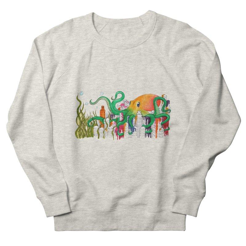Attack on Austin Women's French Terry Sweatshirt by Anissa's Artist Shop