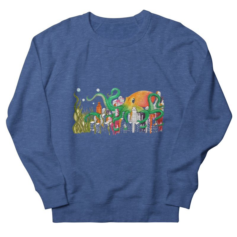 Attack on Austin Men's French Terry Sweatshirt by Anissa's Artist Shop