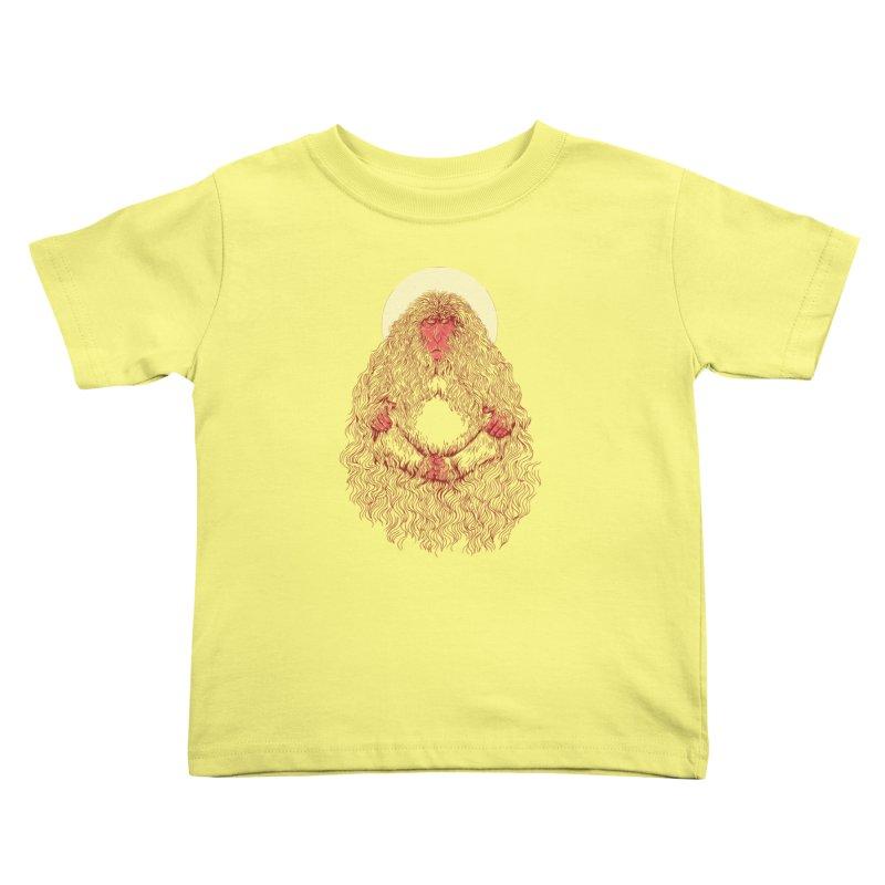 Monk Kids Toddler T-Shirt by anivini's Artist Shop