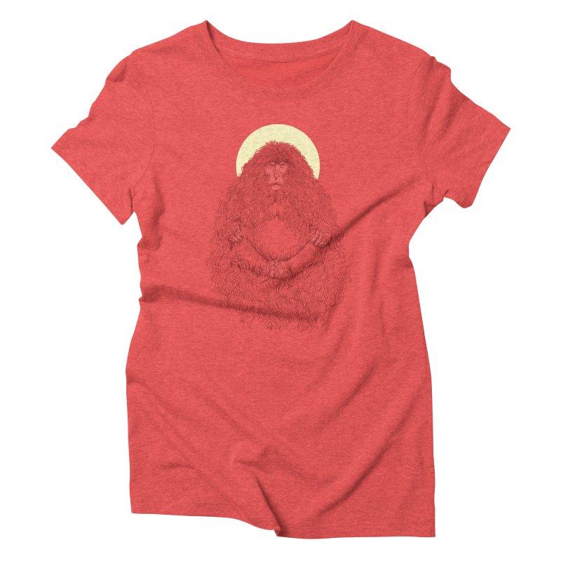 Monk Women's Triblend T-Shirt by anivini's Artist Shop