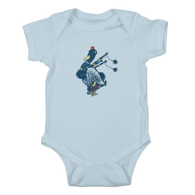 Piper Kids Baby Bodysuit by anivini's Artist Shop
