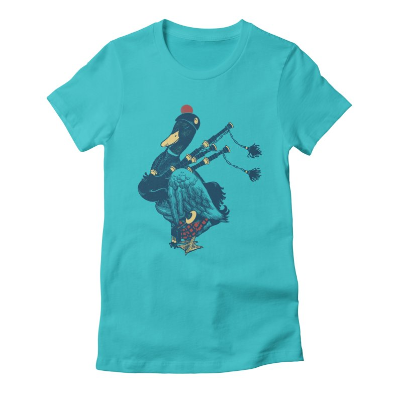 Piper Women's Fitted T-Shirt by anivini's Artist Shop