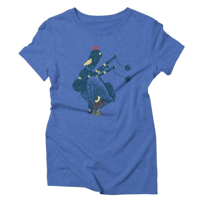 Piper Women's Triblend T-Shirt by anivini's Artist Shop