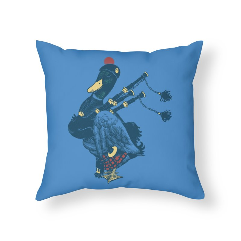 Piper Home Throw Pillow by anivini's Artist Shop