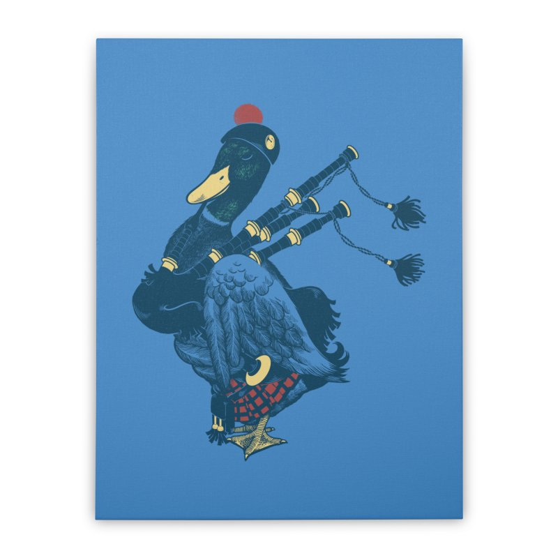 Piper Home Stretched Canvas by anivini's Artist Shop
