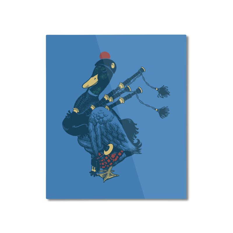 Piper Home Mounted Aluminum Print by anivini's Artist Shop