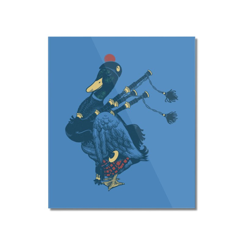 Piper Home Mounted Acrylic Print by anivini's Artist Shop