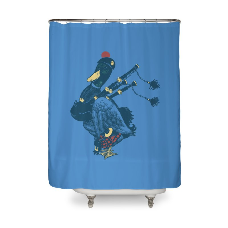 Piper Home Shower Curtain by anivini's Artist Shop