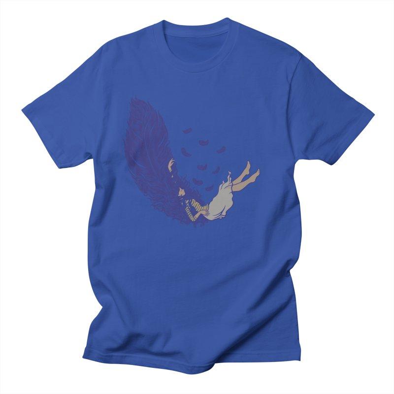Feather Women's Regular Unisex T-Shirt by anivini's Artist Shop