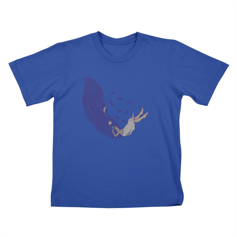 Feather Kids T-Shirt by anivini's Artist Shop