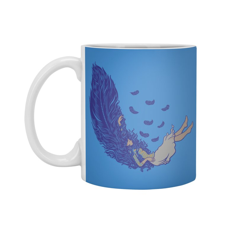 Feather Accessories Mug by anivini's Artist Shop