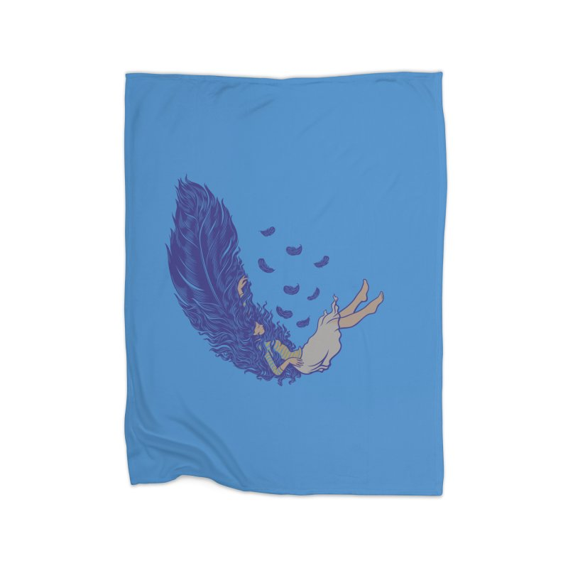 Feather Home Blanket by anivini's Artist Shop