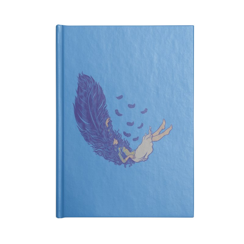 Feather Accessories Notebook by anivini's Artist Shop