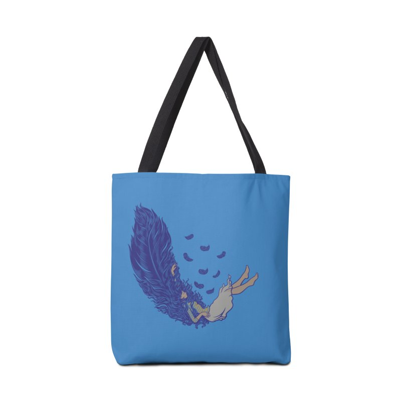 Feather Accessories Bag by anivini's Artist Shop