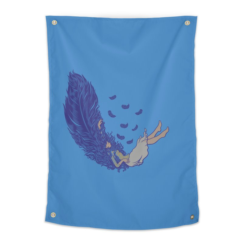 Feather Home Tapestry by anivini's Artist Shop