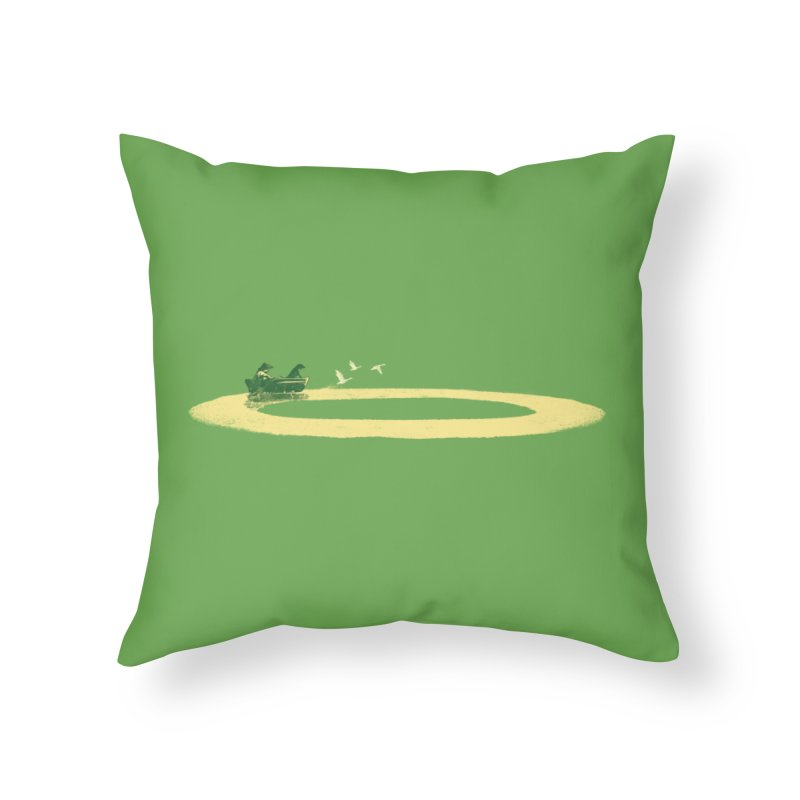 Endless Home Throw Pillow by anivini's Artist Shop