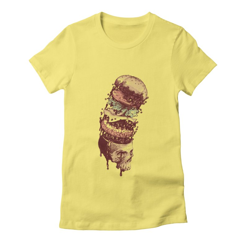 Bun Women's Fitted T-Shirt by anivini's Artist Shop