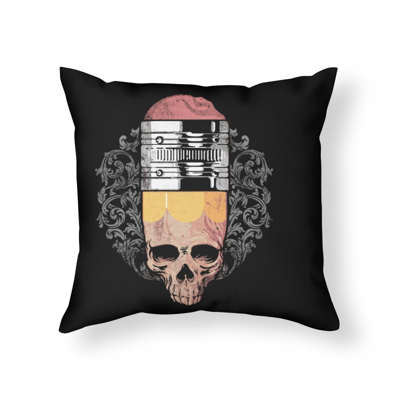 Last Home Throw Pillow by anivini's Artist Shop