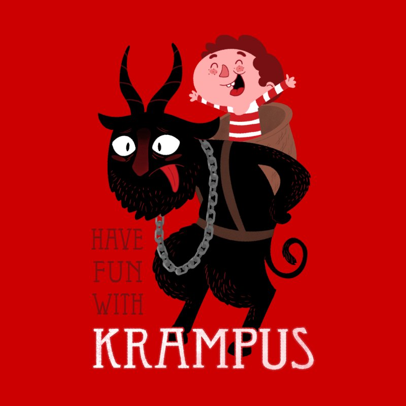 Have fun with Krampus Men's Longsleeve T-Shirt by The Art of Anna-Maria Jung
