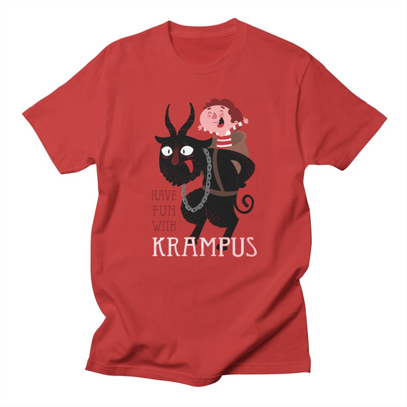 Have fun with Krampus Men's French Terry Zip-Up Hoody by The Art of Anna-Maria Jung