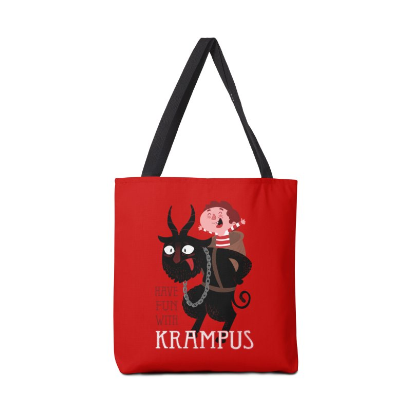 Have fun with Krampus Accessories Beach Towel by The Art of Anna-Maria Jung
