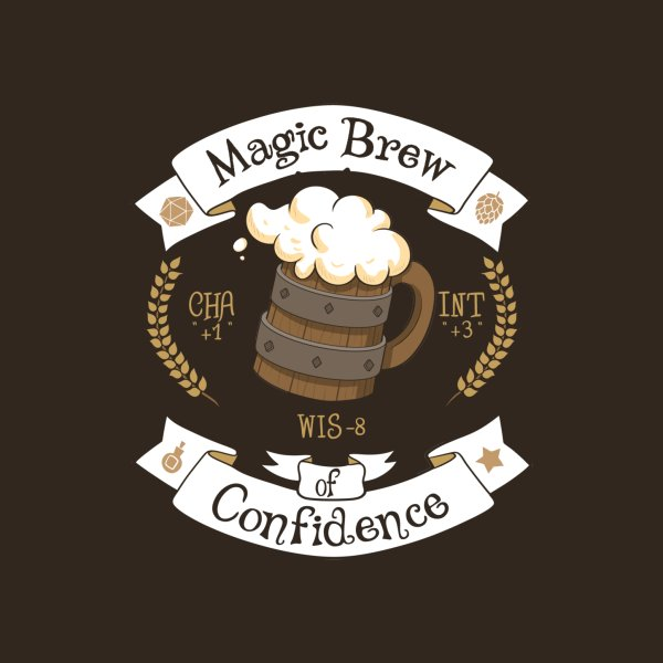 image for Beer - magic brew of confidence