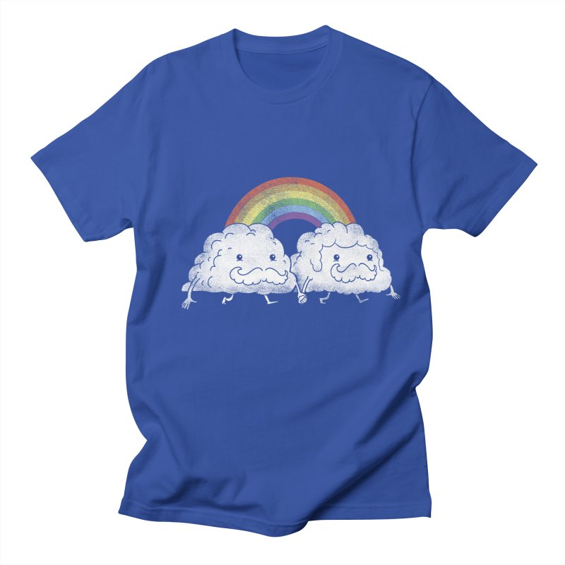 Gay Clouds Men's T-shirt by The Art of Anna-Maria Jung