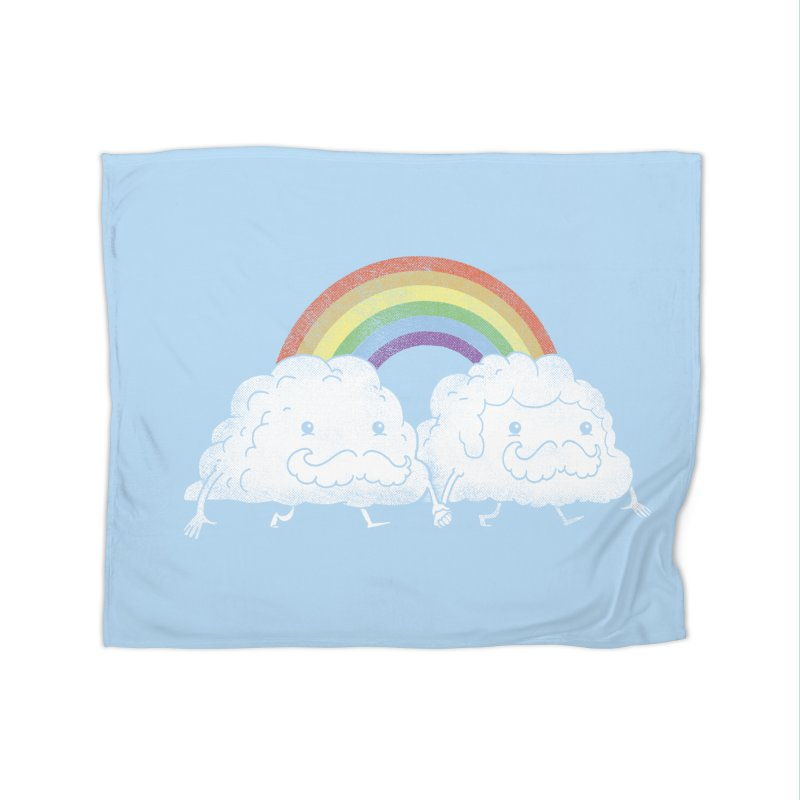 Gay Clouds Home Blanket by The Art of Anna-Maria Jung