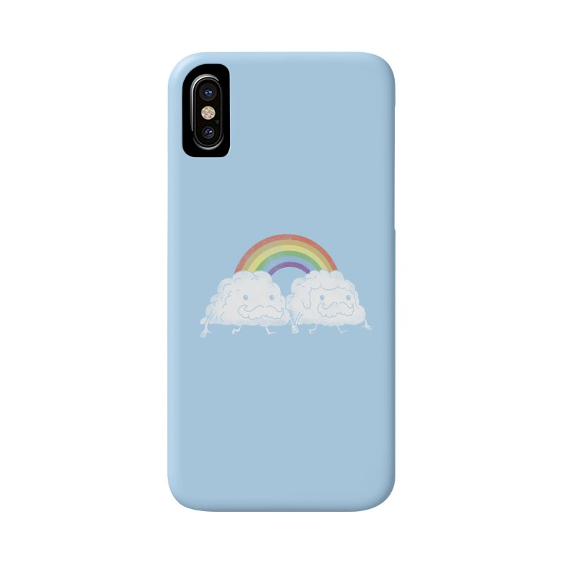 Gay Clouds Accessories Beach Towel by The Art of Anna-Maria Jung
