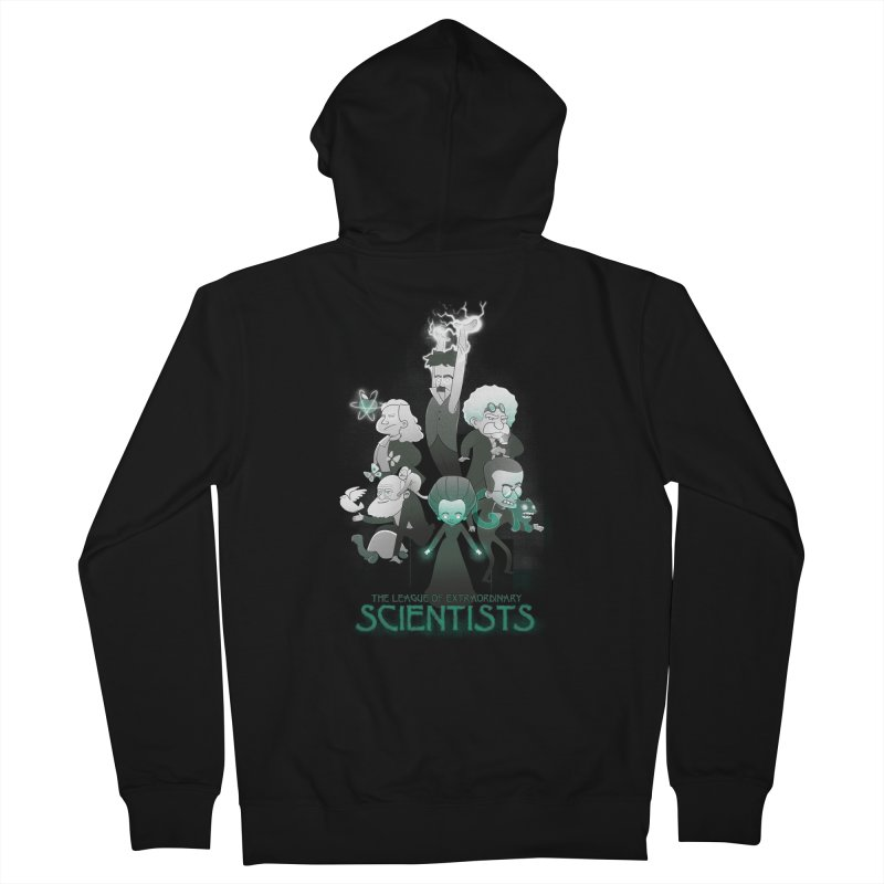 League of Extraordinary Scientists Men's Zip-Up Hoody by The Art of Anna-Maria Jung