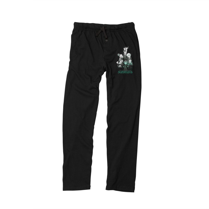 League of Extraordinary Scientists Men's Lounge Pants by The Art of Anna-Maria Jung