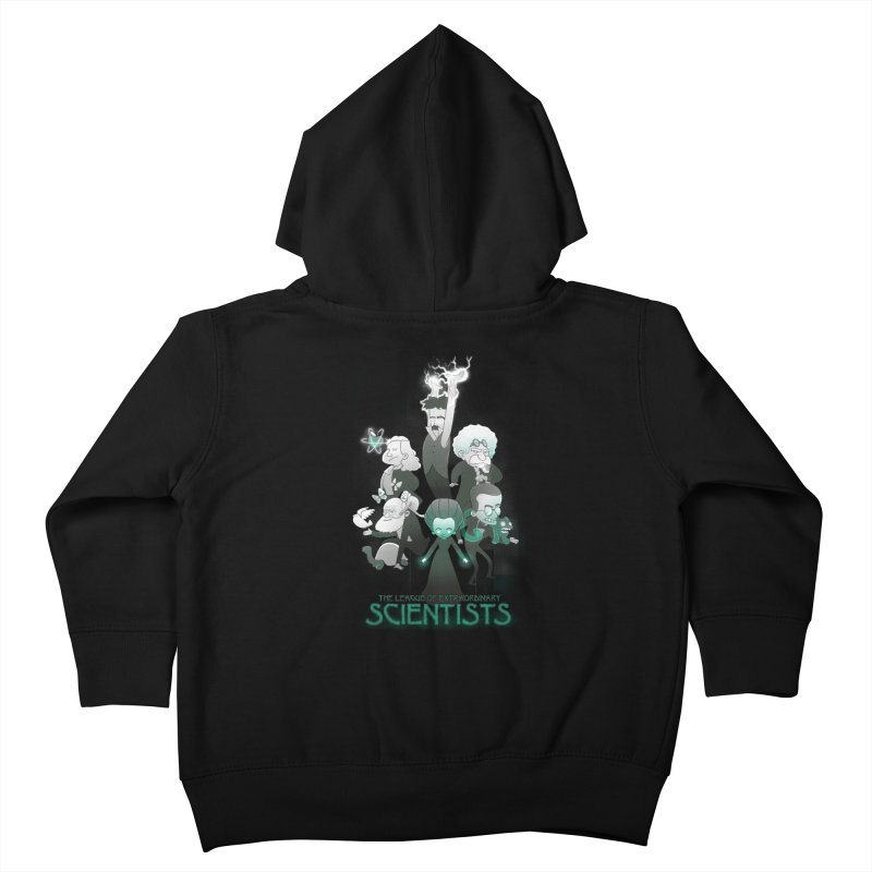 League of Extraordinary Scientists Kids Toddler Zip-Up Hoody by The Art of Anna-Maria Jung