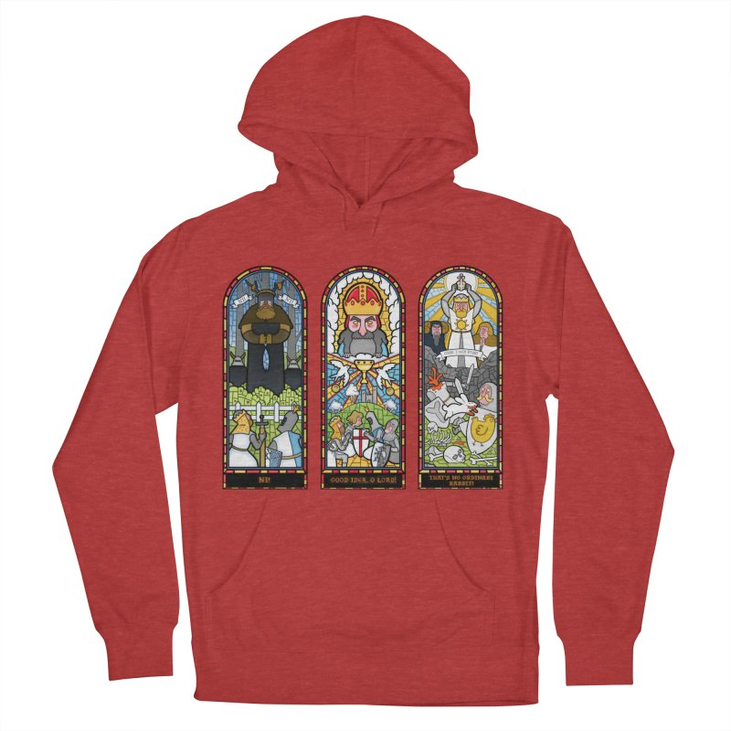 Triptych of Aaarrrgggh Men's Pullover Hoody by The Art of Anna-Maria Jung