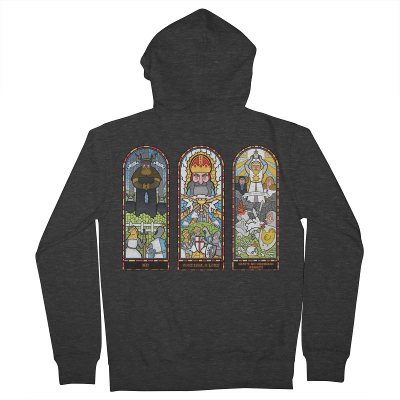 Triptych of Aaarrrgggh Women's Zip-Up Hoody by The Art of Anna-Maria Jung