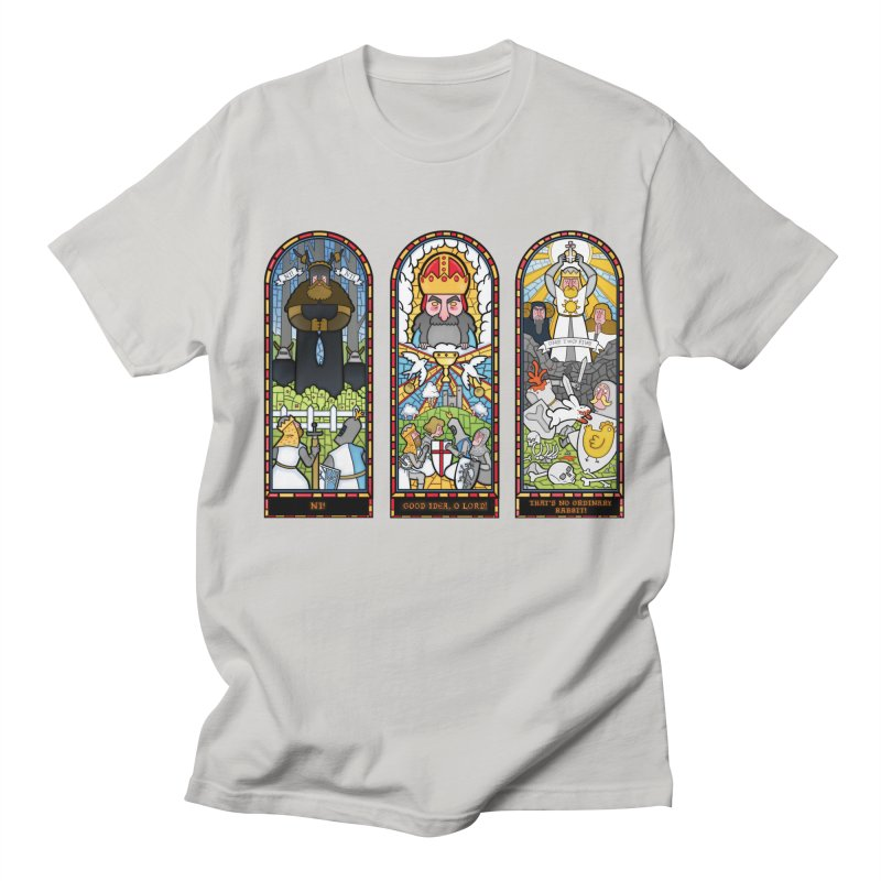 Triptych of Aaarrrgggh Men's T-shirt by The Art of Anna-Maria Jung