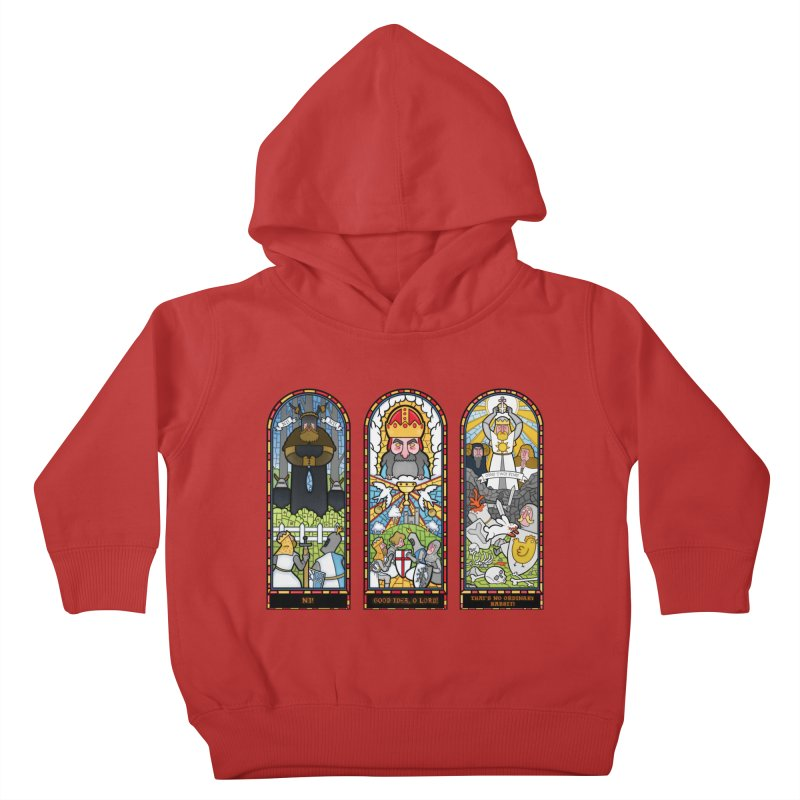 Triptych of Aaarrrgggh Kids Toddler Pullover Hoody by The Art of Anna-Maria Jung