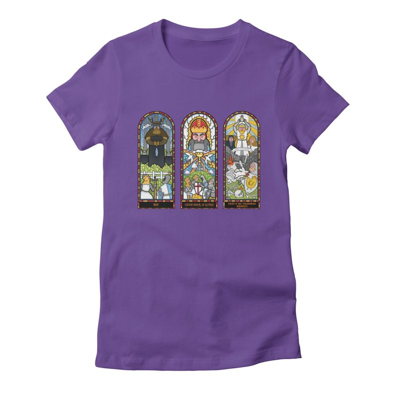 Triptych of Aaarrrgggh Women's Fitted T-Shirt by The Art of Anna-Maria Jung
