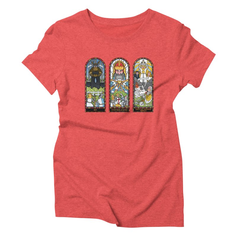Triptych of Aaarrrgggh Women's Triblend T-shirt by The Art of Anna-Maria Jung