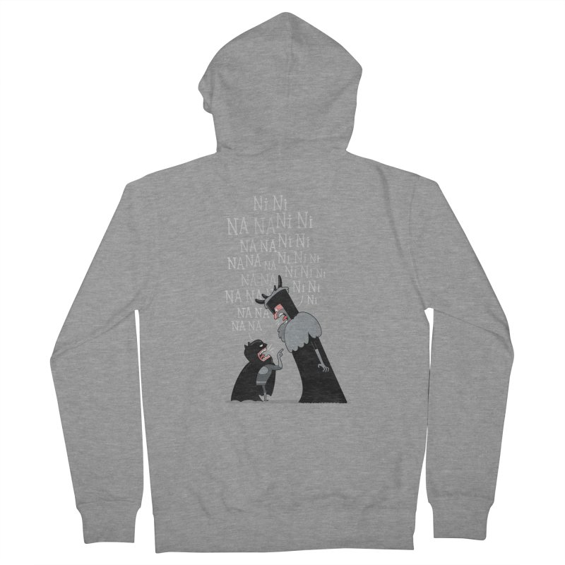 The Knights Who say.... Men's Zip-Up Hoody by The Art of Anna-Maria Jung