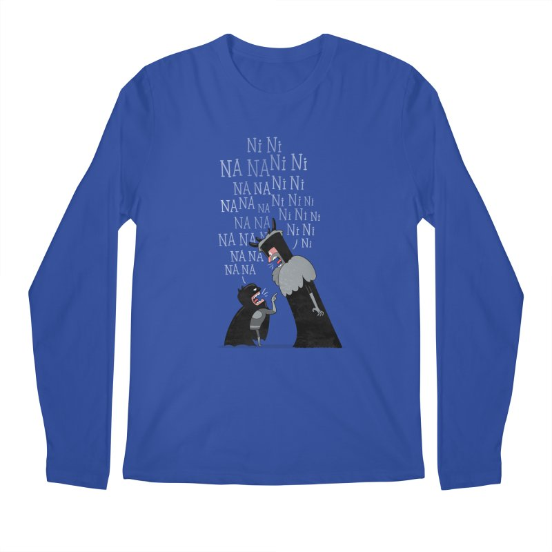 The Knights Who say.... Men's Longsleeve T-Shirt by The Art of Anna-Maria Jung
