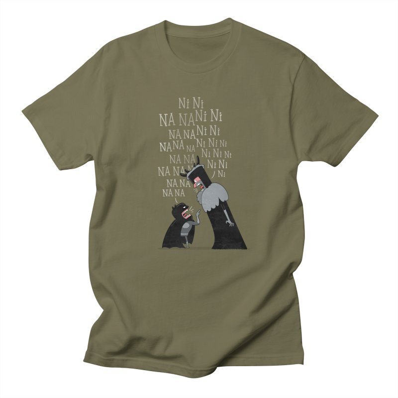 The Knights Who say.... Men's T-shirt by The Art of Anna-Maria Jung