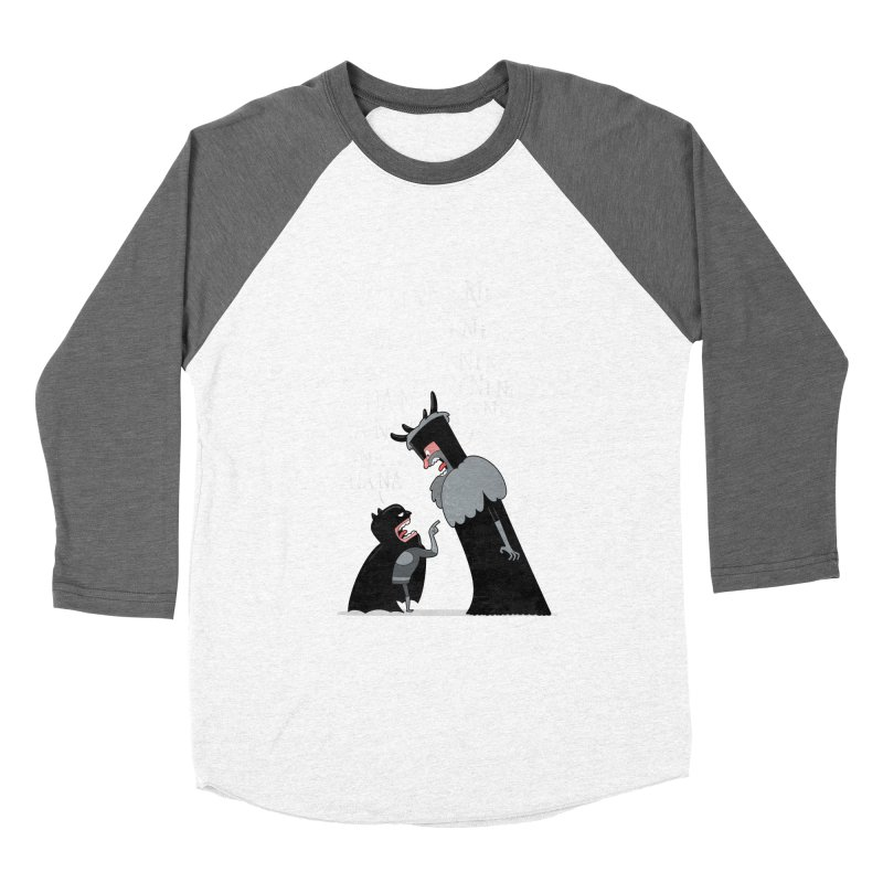 The Knights Who say.... Women's Baseball Triblend T-Shirt by The Art of Anna-Maria Jung