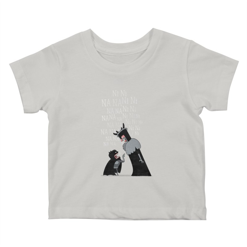 The Knights Who say.... Kids Baby T-Shirt by The Art of Anna-Maria Jung