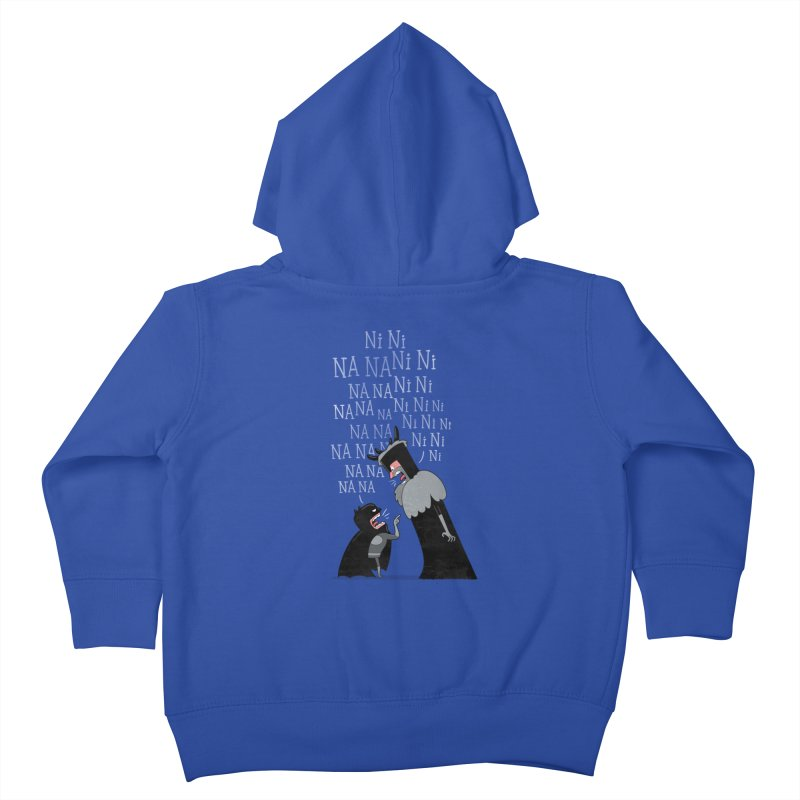 The Knights Who say.... Kids Toddler Zip-Up Hoody by The Art of Anna-Maria Jung