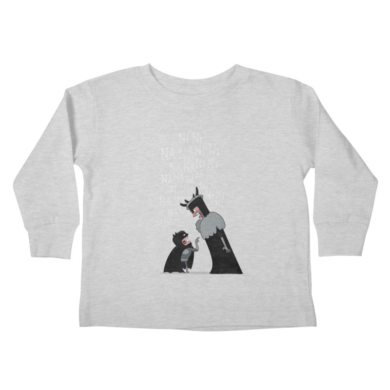 The Knights Who say.... Kids Toddler Longsleeve T-Shirt by The Art of Anna-Maria Jung