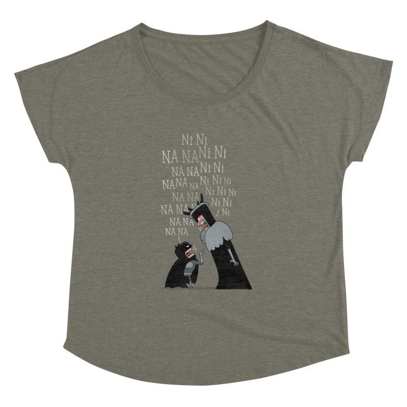 The Knights Who say.... Women's Dolman by The Art of Anna-Maria Jung