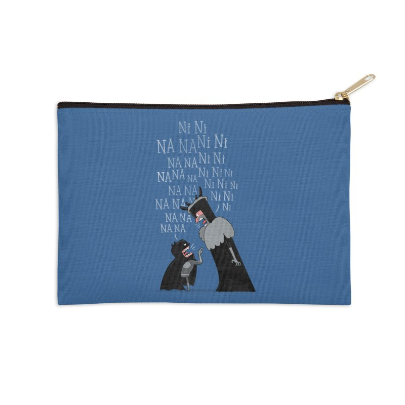 The Knights Who say.... Accessories Zip Pouch by The Art of Anna-Maria Jung