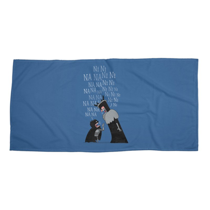 The Knights Who say.... Accessories Beach Towel by The Art of Anna-Maria Jung