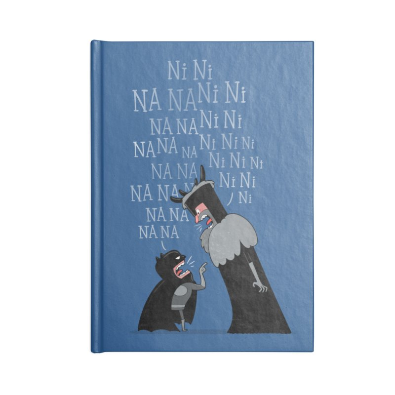 The Knights Who say.... Accessories Notebook by The Art of Anna-Maria Jung