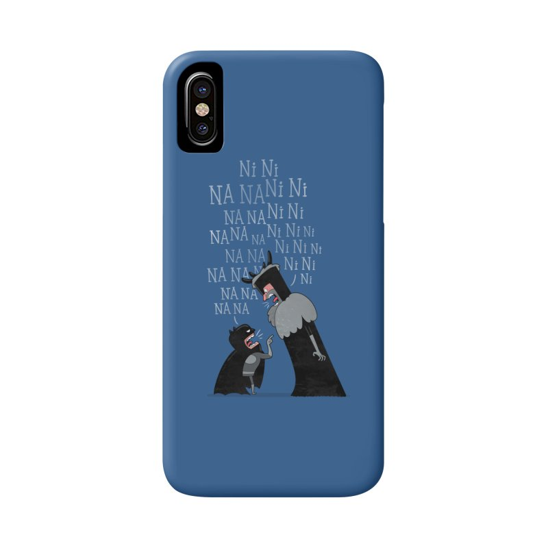The Knights Who say.... Accessories Phone Case by The Art of Anna-Maria Jung
